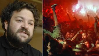 Das «Stagediving» beschränkt sich laut Pipo Kofmehl keineswegs nur auf die Hardrock- oder Heavy-Metal-Szene.