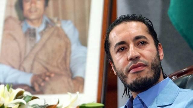 Wird international zur Fahndung ausgeschrieben: Gaddafi-Sohn Al-Saadi (Archiv)