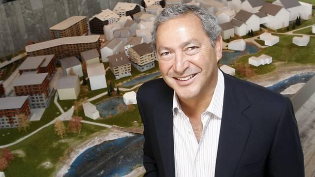 Samih Sawiris verzeichnet mit seiner Holding einen Gewinnrückgang (Archivbild)