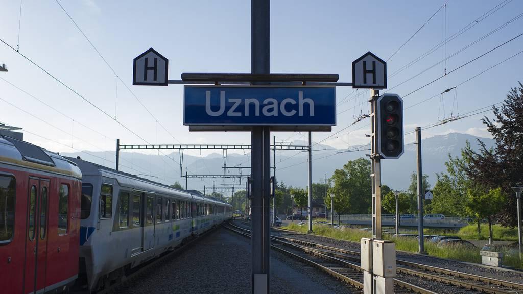 Bus statt Zug während der Sommerferien zwischen Rapperswil und Uznach