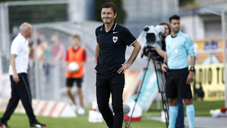 Marinko Jurendic: «Wenn wir dieses 2:0 schiessen, dann läuft der Match anders.»
