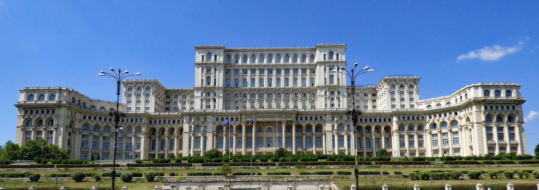 Bukarest Rumänien Parlamentsgebäude