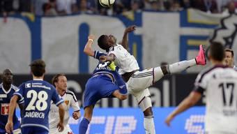 FC Basel gegen den FC Luzern