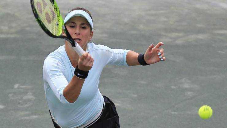 Belinda Bencic schaffte es in Charleston nicht, die Ballwechsel gegen die Kroatin Petra Martic zu dominieren