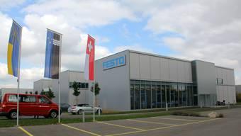 Der Neubau von Festo in Lupfig