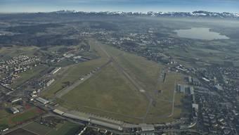 Hier soll einmal eine Expo stattfinden: Flugplatz Dübendorf