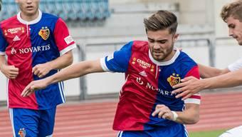 Martin Liechti setzte den Ball gegen Bavois an den Pfosten.