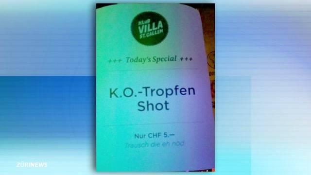 Stunk um K.O.-Tropfen-Shot an SVP-Wahlkampf-Party