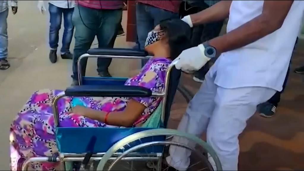 Indien: Schwermetall sei möglicher Auslöser von mysteriöser Krankheit