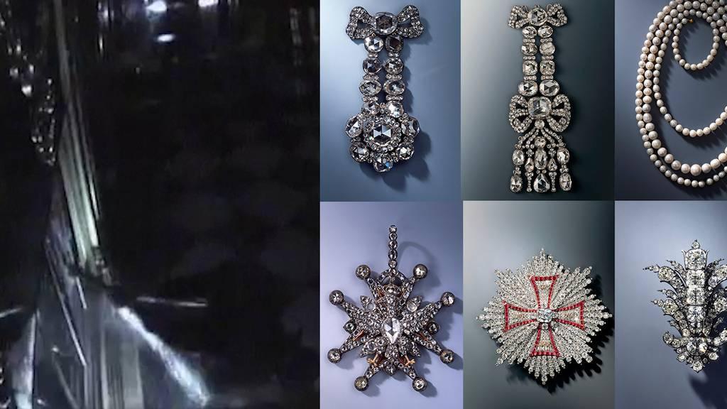 Diebe rauben unersetzliche Schmuckstücke aus dem 18. Jahrhundert