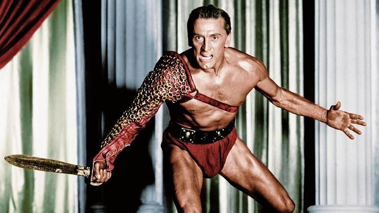 Die Rolle seines Lebens: Kirk Douglas kämpft 1960 als Spartacus für Gerechtigkeit und gegen Unterdrückung.