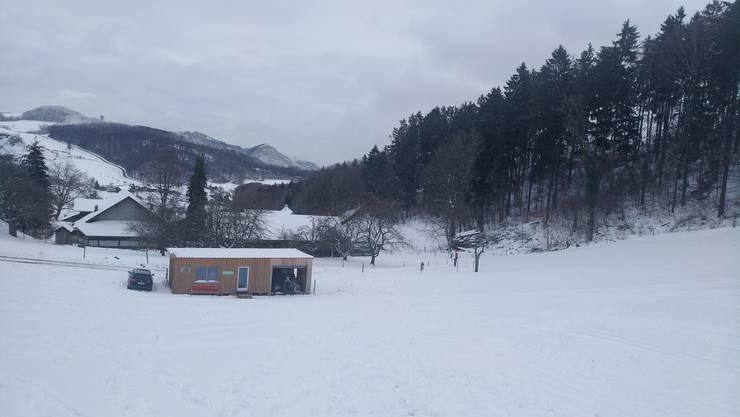 Am Samstag, 12. Januar, konnte der Verein Skilift Gsahl den Lift zum ersten Mal in diesem Winter in Betrieb nehmen.