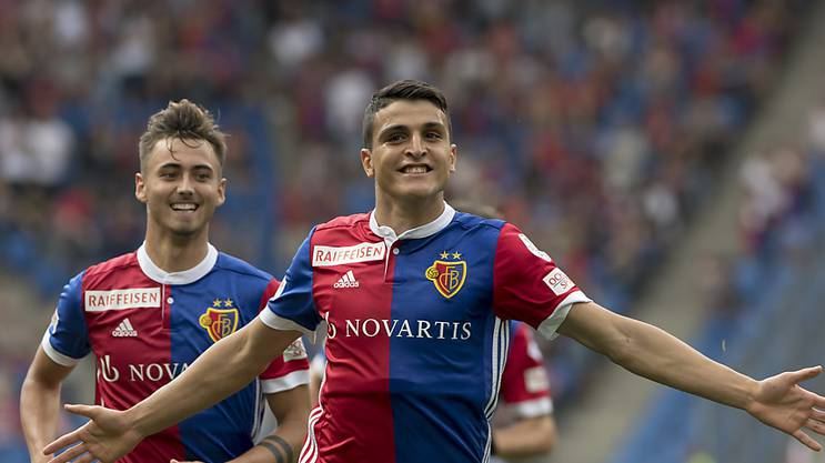 Mohamed Elyounoussi gefällts in Basel