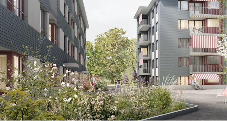 Für die Gemeinde ist das Ziel des Baus klar: Sie möchten den bestehenden Wohnraum qualitativ verdichten und einen Mix aus günstigen und teuren Wohnungen herstellen.