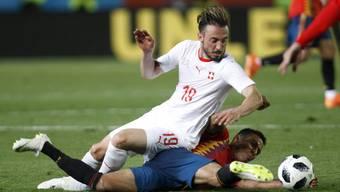 WM-Testspiel Schweiz vs Spanien