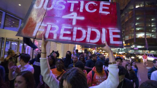 Protestmarsch in New York für Freddie Gray