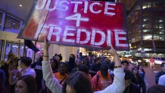 Protestmarsch in New York für Freddie Gray