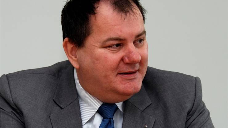 Roger Siegenthaler, Präsident des Gemeindeverbands, setzt sich für eine mehrheitsfähige Steuervorlage ein.