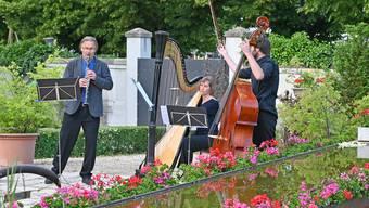 Tobs-Konzert im Oltner Klostergarten
