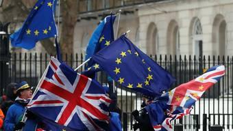 Ein scharfer Wind weht den Briten aus Brüssel entgegen. Frank Augstein/Keystone