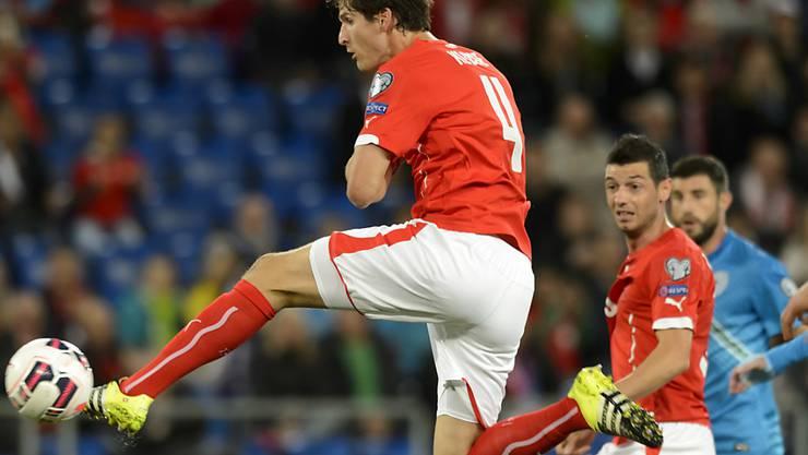 In Zukunft in England aktiv: Der Schweizer Internationale Timm Klose hat bei Norwich einen Vertrag unterschrieben