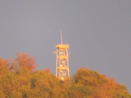 Und vom Aussichtsturm in Liestal ist sogar ein Blick nach Frenkendorf möglich