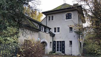 Die Villa Wolfensberg in Winterthur gehört zu den letzten Objekten aus der Erb-Konkursmasse.