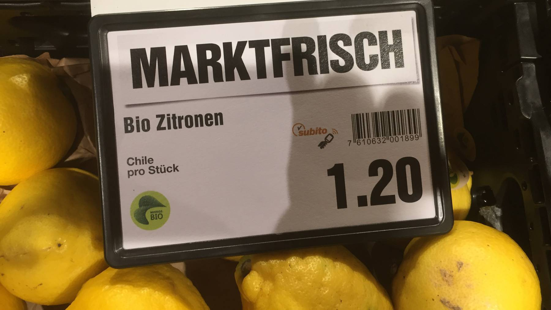 Bio Zitronen aus Chile