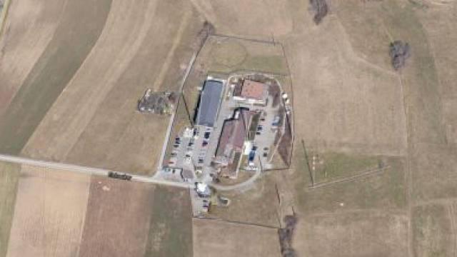 Schweizer Geheimdienst: Das Zentrum für elektronische Operationen ZEO im bernischen Zimmerwald. Foto: Google Maps