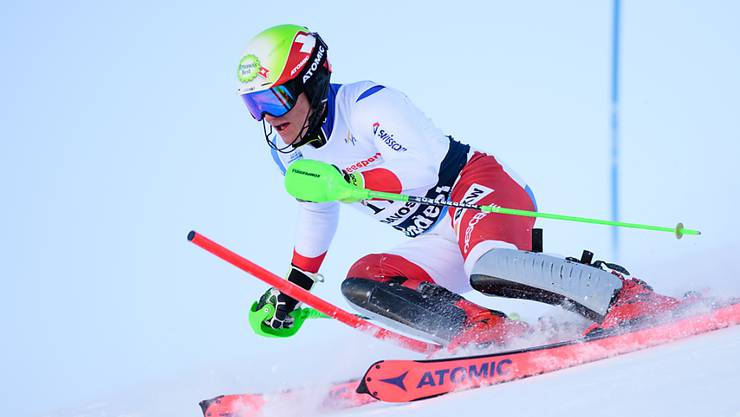 Semyel Bissig fährt im Slalom der Junioren-WM auf Platz 5