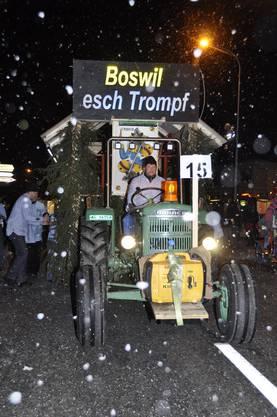 Boswil war Trumpf am Nachtumzug
