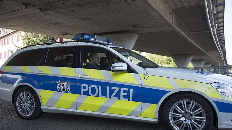 In Basel ist schon wieder eine Person durch Schussabgabe verletzt worden. (Symbolbild)