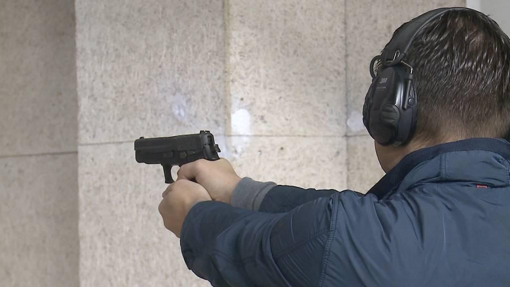64 Prozent sagen Ja zum Waffenrecht
