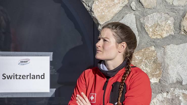 Kein skeptischer Blick mehr: Marina Gilardoni ist vor dem Heim-Weltcup heute Freitag in St. Moritz wieder hundert Prozent gesund