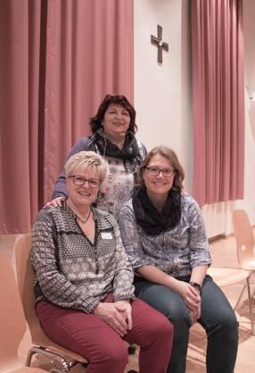 Die Dietikerinnen Claudia Vogel, Annarita Müller und Seraina Gloor freuen sich jedes Jahr auf die Fastenwoche drei Wochen vor Karfreitag.