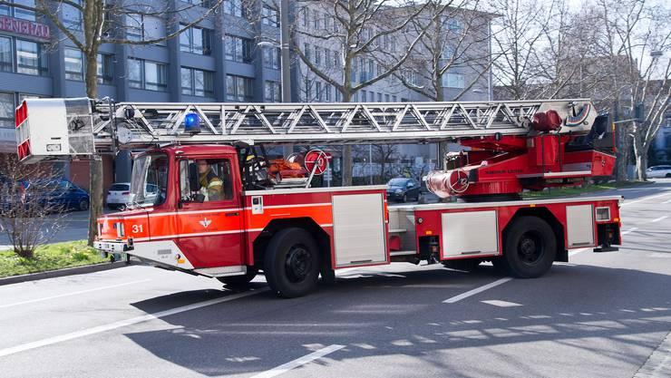 Der Berufsfeuerwehr gelang es, den Brand zu löschen. (Symbolbild)