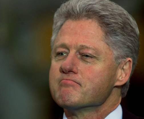 Bill Clinton im Jahr 1998.