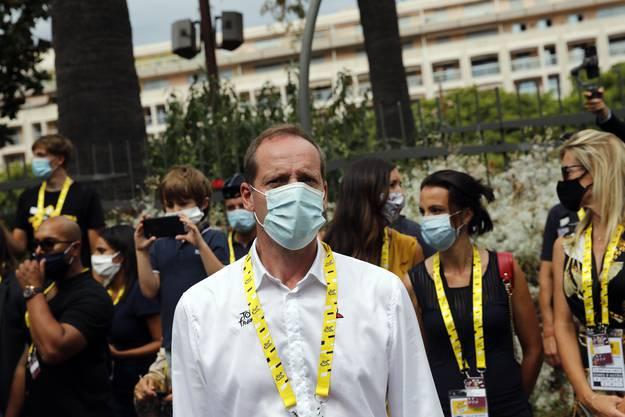 Christian Prudhomme: Der Tour-Chef wurde positiv auf das Coronavirus getestet und begibt sich in Quarantäne.