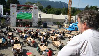 Public Viewing in Solothurn Juni 2018