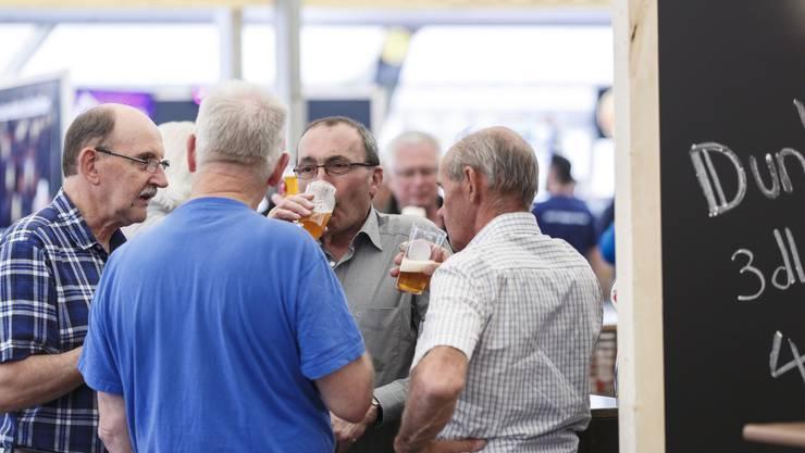 Bierexperten unter sich...