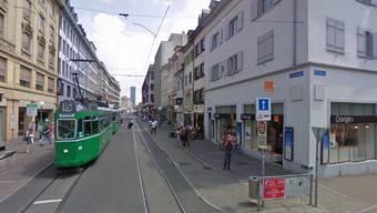 Tatort Greifengasse: Hier wurde der Tote gefunden (Archivbild)