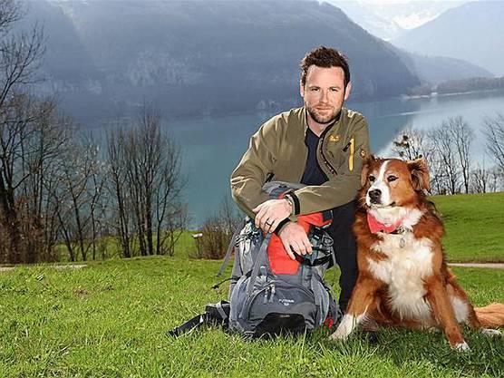 Nik Hartmann mit seiner Jabba