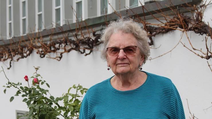 Silvia Wismer wird ihr Adventsfenster auch dieses Jahr dekorieren.