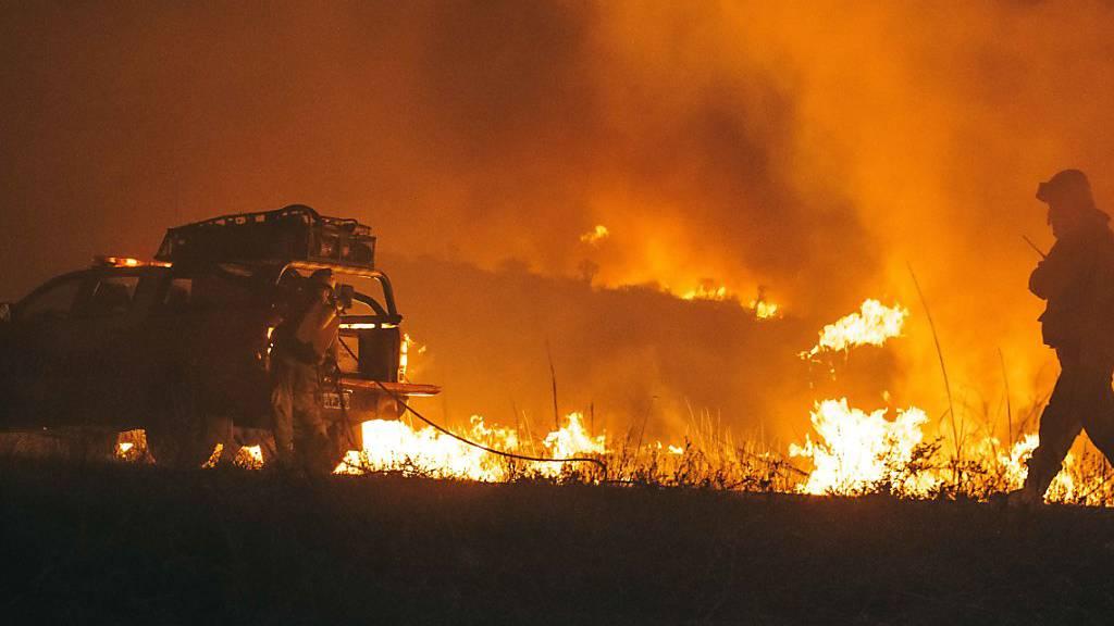 Feuerwehr kämpft gegen Tausende Brände in Argentinien