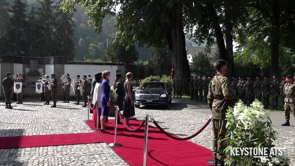 Österreichs Bundeskanzler Sebastian Kurz zu Besuch in Bern