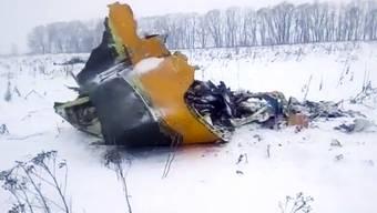 Flugzeugabsturz Moskau