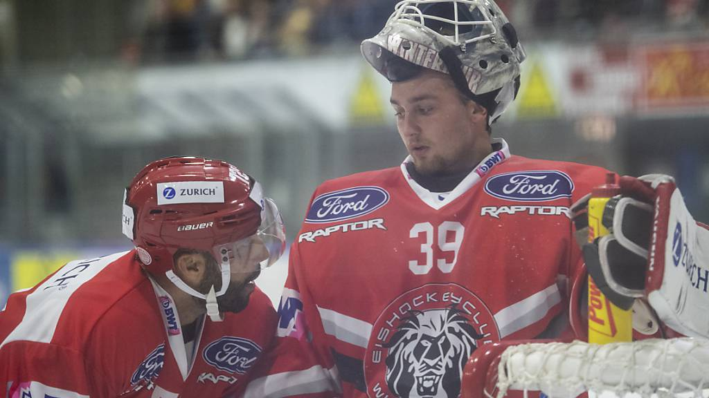 Auch in La Chaux-de-Fonds auf verlorenem Posten: Der EHC Winterthur verlor beim Debüt des neuen Trainers Misko Antisin.