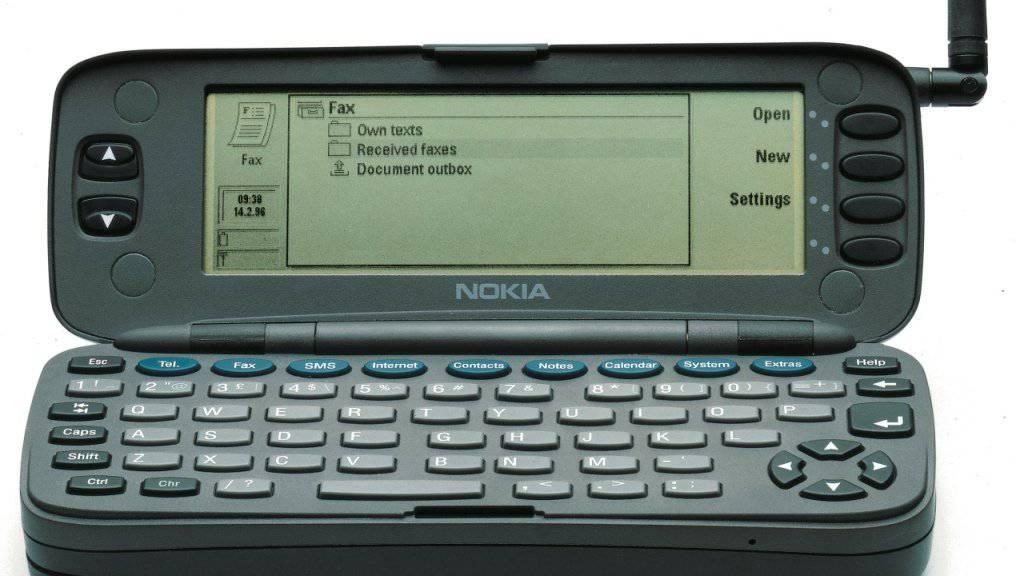 Nokia Communicator 9000: Heute vor genau 20 Jahren kam das erste Smartphone der Welt in die Läden (Archiv).