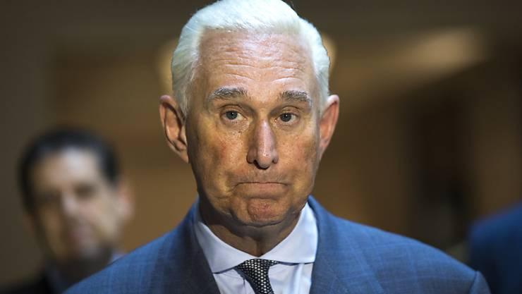 Ex-Trump-Berater Roger Stone ist gegen Kaution wieder auf freiem Fuss.