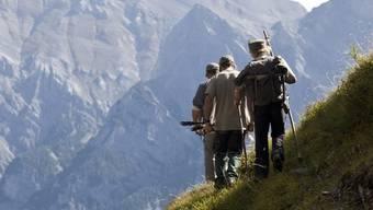 Jäger im Bündnerland (Symbolbild)